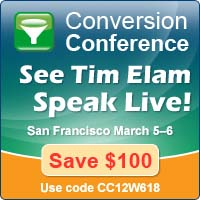 See Tim Elam at Conversion Conference