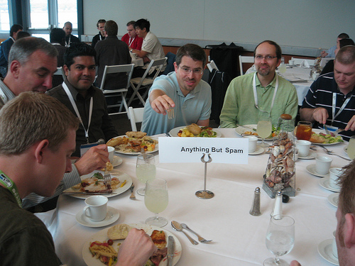 Lunch with Matt Cutts at SMX Advanced 2008