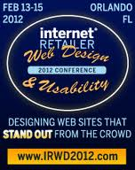 Speaking at the Internet Retailer's Web Design and Usability Conference