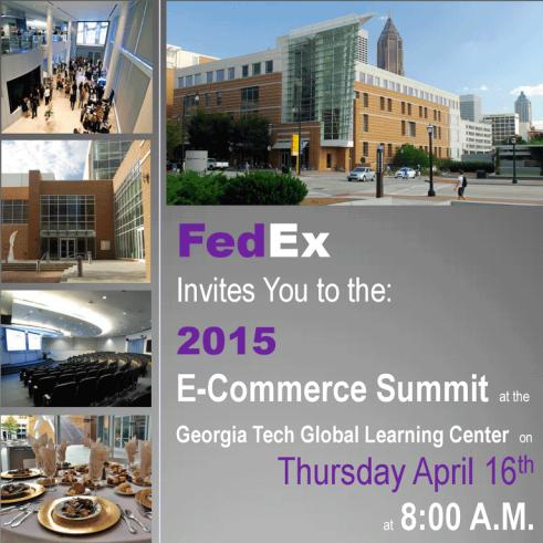 fedex e commerce summit 2015 - Fedex Garden City