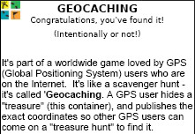 2.5 inch Geocaching Stash Note