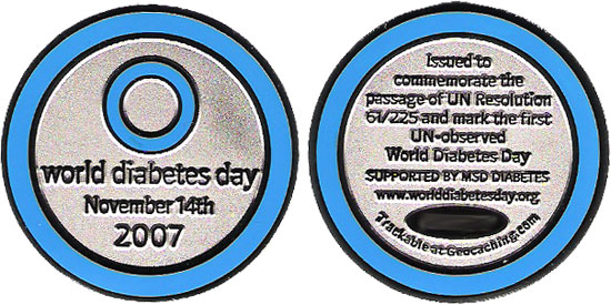 WDD 2007 Commemorative Geocoin (TB1ZTCE)